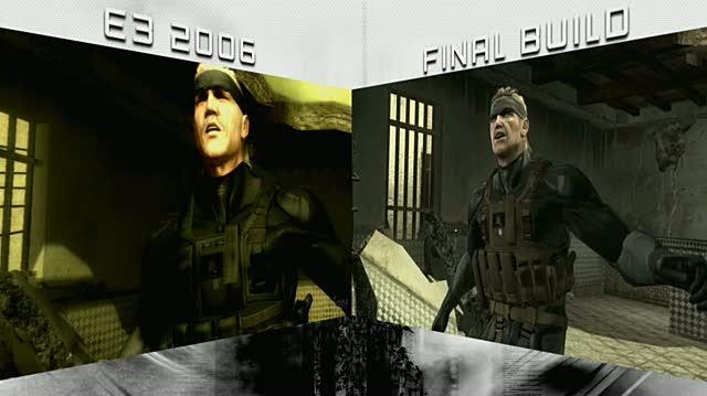 Metal Gear Solid 4 Guns of the Patriots PlayStation 3 Trailer - 2006 vs