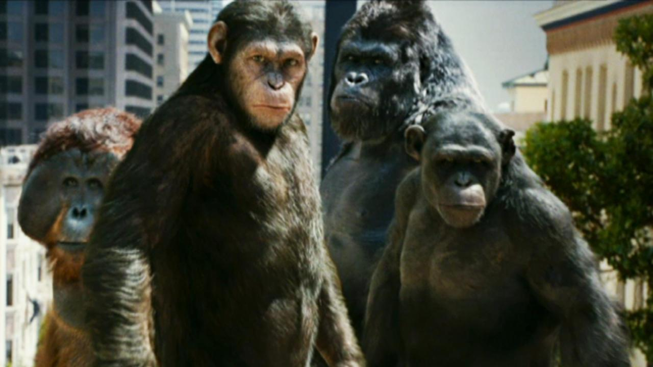 Rise of the Planet of the Apes - Trailer 3