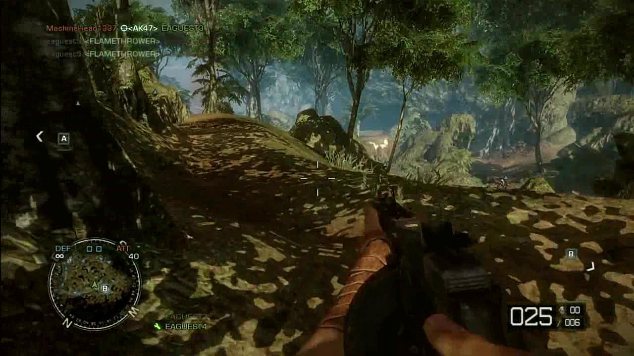 Battlefield Bad Company 2 Vietnam Hill 137 Flames and RPGs Gameplay