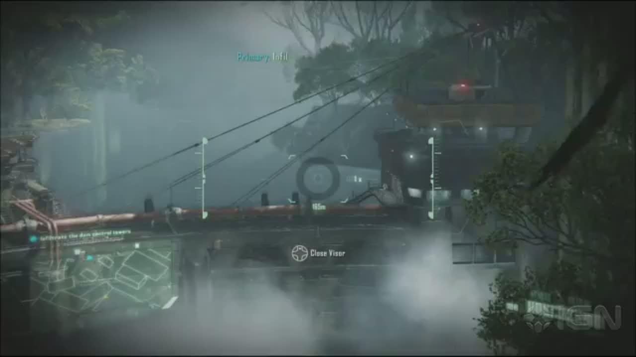 Crysis 3 - Gameplay (Pt. 2) - E3 2012