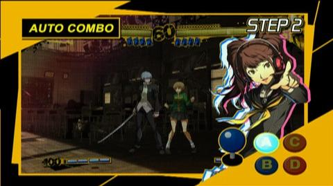 Persona 4 Arena (VG) (2012) - Tutorial 01 Walkthru trailer