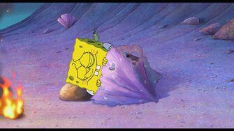 """SpongeBob Sponge Out of Water - """"Brain"""" Clip"""