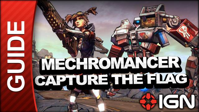 Borderlands 2 Mechromancer Walkthrough - Capture the Flag - Side Mission