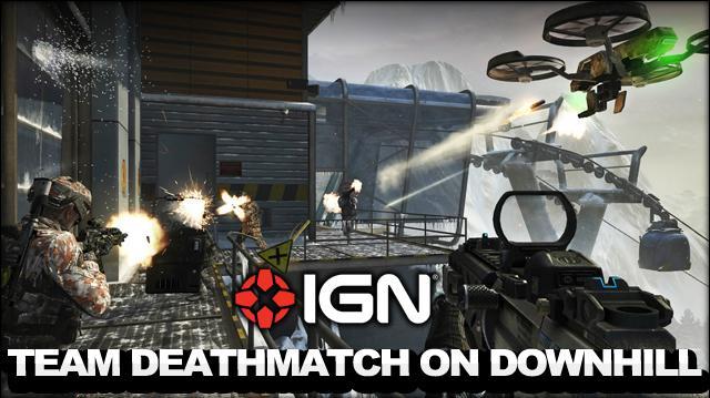 Call of Duty Black Ops 2 - Revolution DLC - Team Deathmatch on Downhill