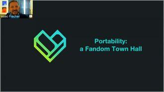 Portability - a Fandom Town Hall (2016-11-19)