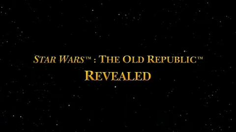 Star Wars The Old Republic - First Video Documentary