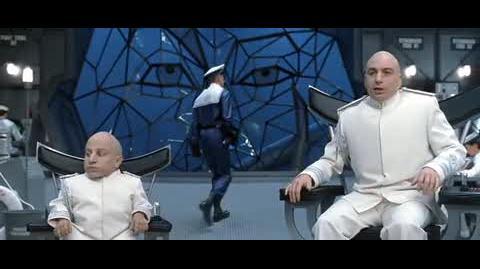 Austin Powers in Goldmember - Dr. Evil's evil submarine