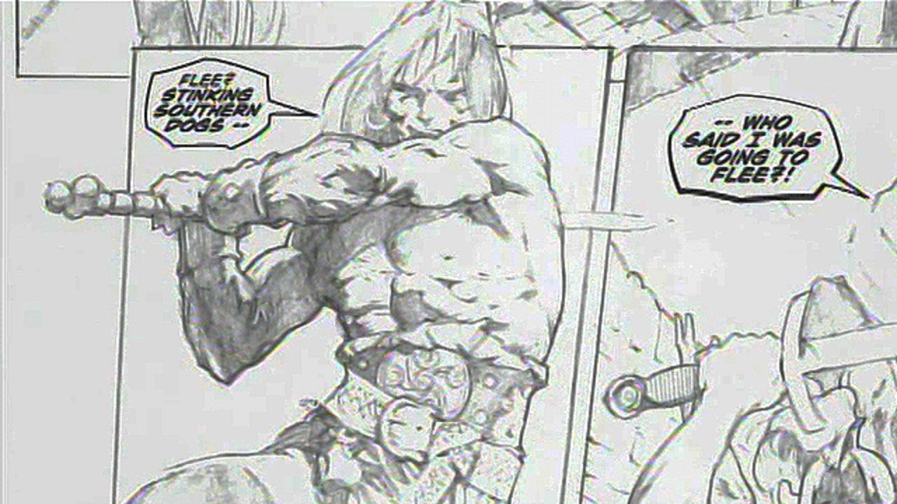 Exclusive Conan the Barbarian Clip