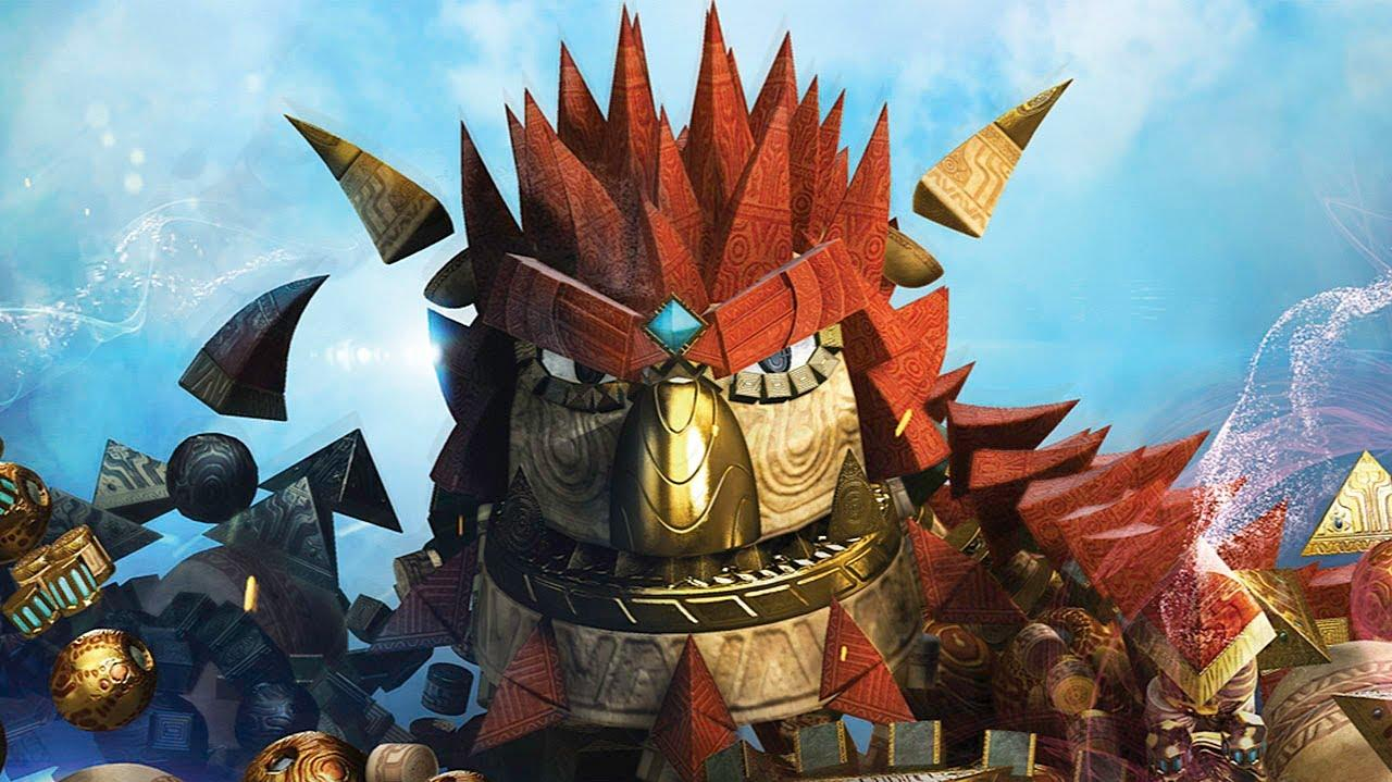 Knack Coliseum Attack Gameplay