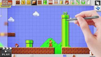 Mario Maker - E3 2014 Announcement Trailer - E3 2014