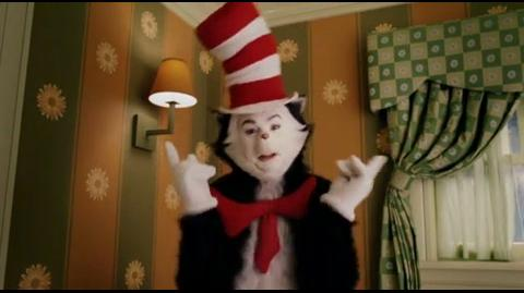 Cat in the Hat - the cat gets to know the kids