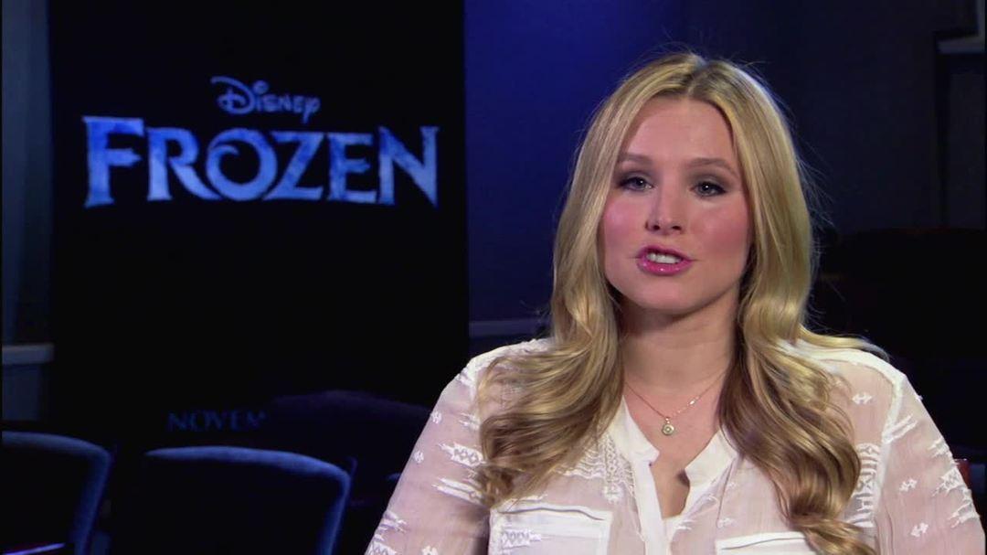 Frozen - Kristen Bell Interview