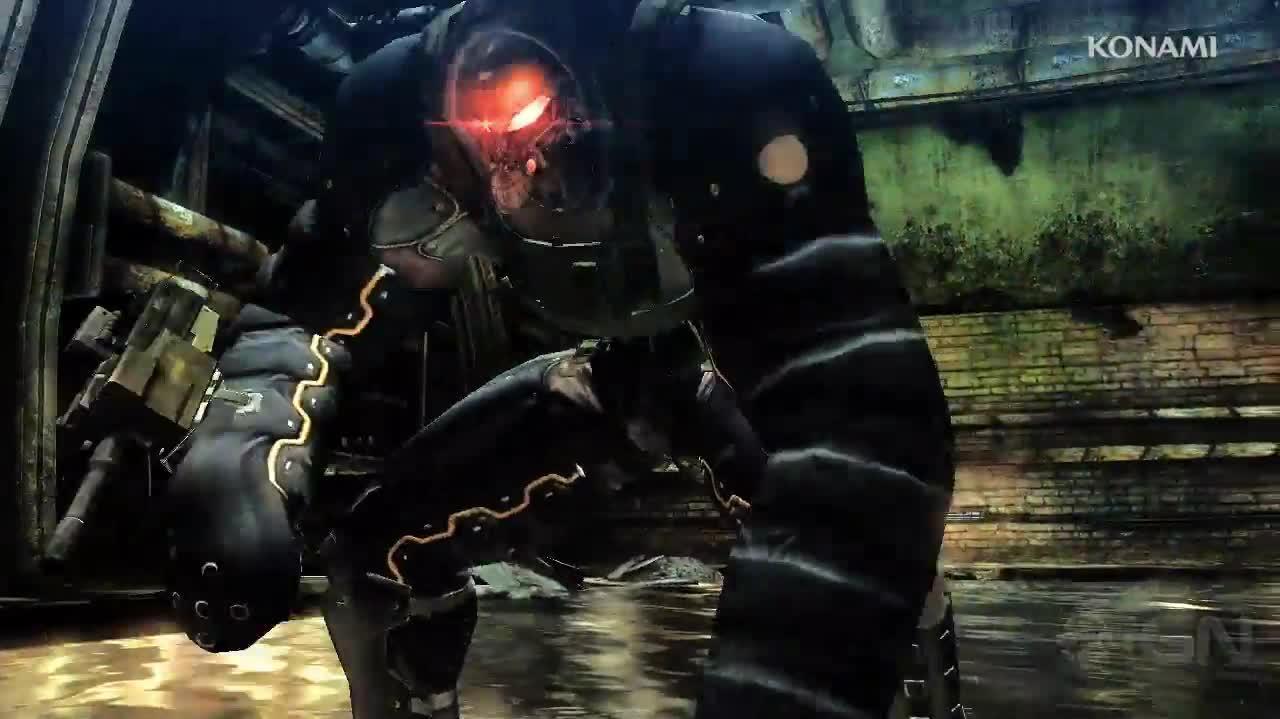 Metal Gear Rising Revengeance - Unmanned Gears Trailer