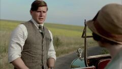 Downton Abbey Season 4 - Allen Leach Tom Branson Clip