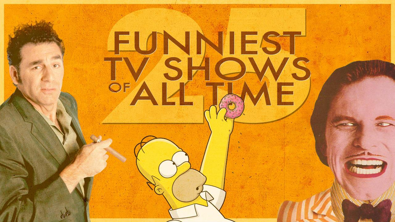 Top 5 Funniest TV Shows of All Time