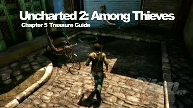 Uncharted 2 Among Thieves PlayStation 3 Guide-Secret - Walkthrough Chapter 5 Treasure Locations