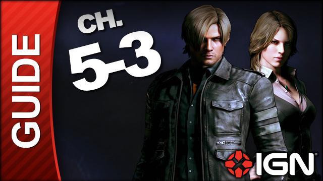 *SPOILERS* Resident Evil 6 Leon Helena Campaign Walkthrough - Ending