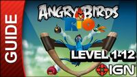 Angry Birds Rio - Smuggler's Den Level 1-12 - 3 Star Walkthrough