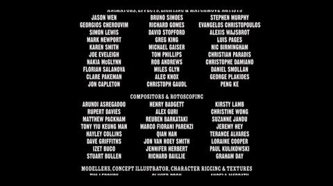Harry Potter and the Order of the Phoenix - End credits Part 5