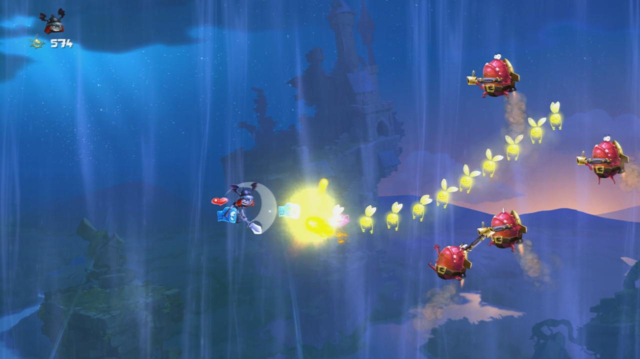 Rayman Legends Walkthrough Toad Story - When Toads Fly