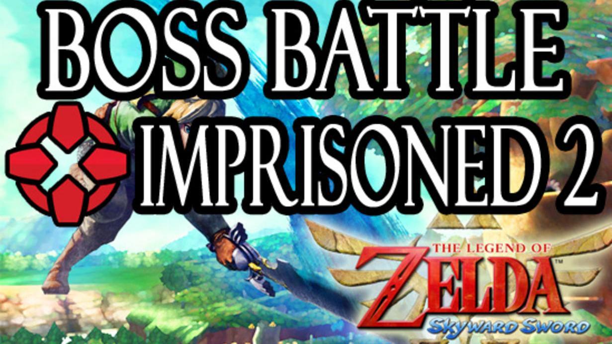 The Legend of Zelda Skyward Sword The Imprisoned Battle - Round Two