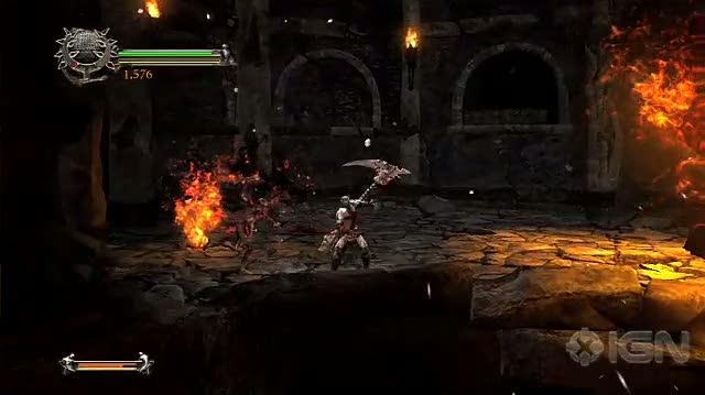 Dante's Inferno Xbox 360 Gameplay - Demo Footage