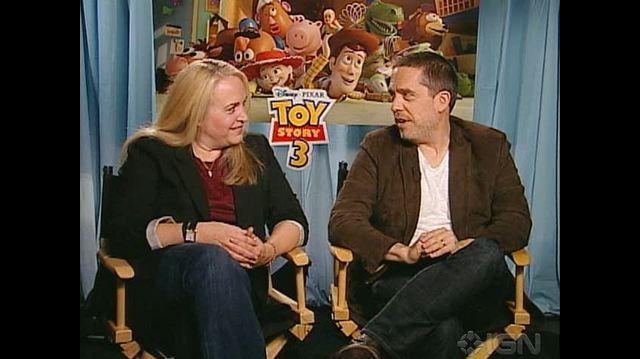 Toy Story 3 Movie - Lee Unkrich & Darla Anderson Chat
