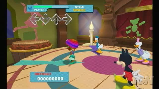 Dance Dance Revolution Disney Grooves Nintendo Wii Gameplay - I Just Can't Wait to be King