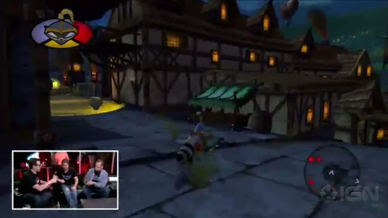 IGN Live Sly Cooper Thieves in Time Demo - E3 2012