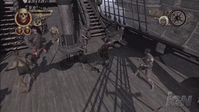 Pirates of the Caribbean At World's End Xbox 360 Trailer - Yo Ho Ho!