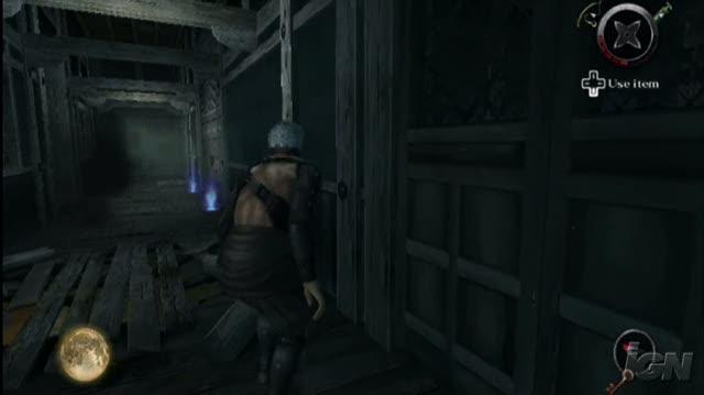 Tenchu Shadow Assassins Nintendo Wii Gameplay - TGS 2008 Gory Kill (480p)