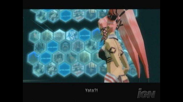 .hack G.U. Vol.3 Redemption PlayStation 2 Gameplay - Yata and Sasaki