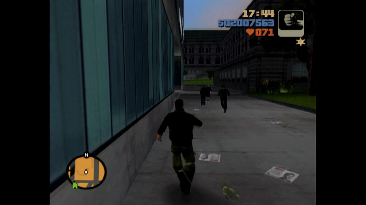 Grand Theft Auto III Failed Fury