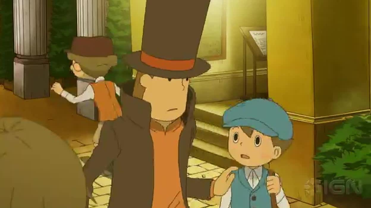 Professor Layton and the Mask of Miracle Trailer
