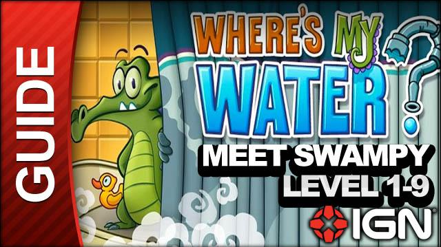 Where's My Water (iPad) - Meet Swampy - Level 1-9 Mixing Bowl