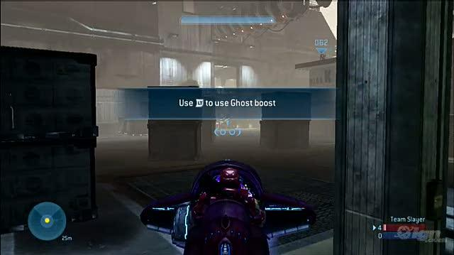 Halo 3 ODST Xbox 360 Gameplay - Longshore Ghost Rider