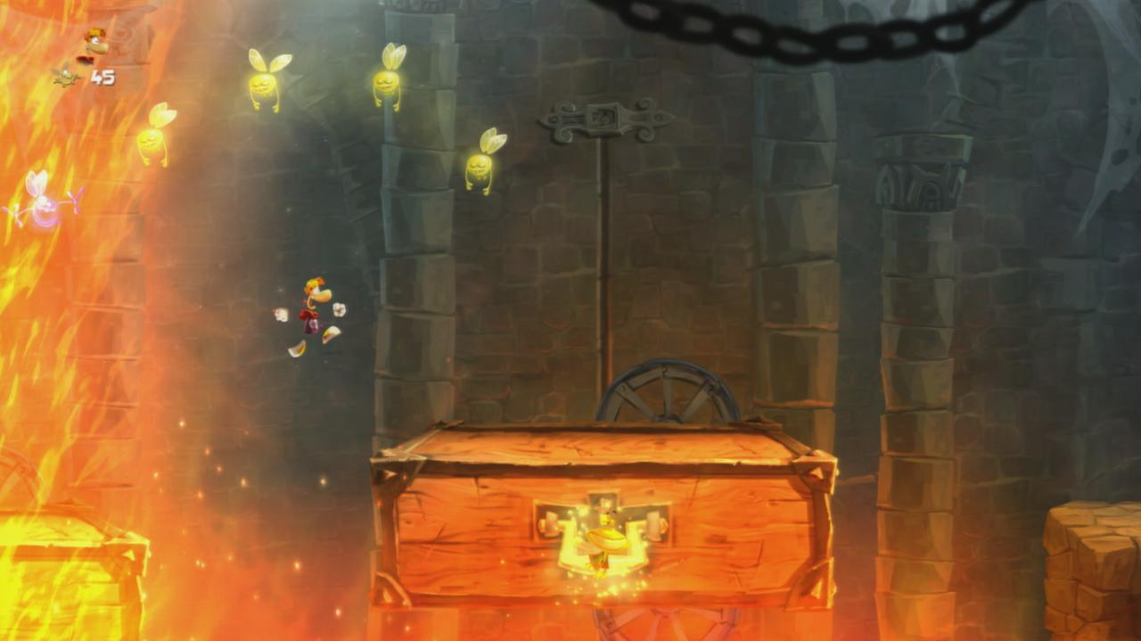 Rayman Legends Walkthrough Teensies in Trouble - Dungeon Dash