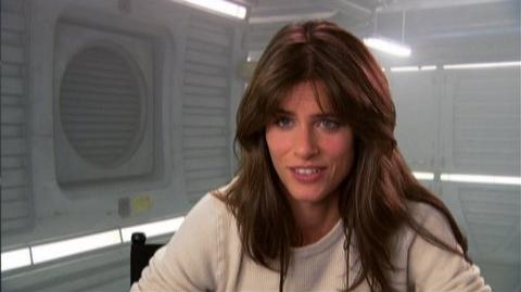 """2012 (2009) - Interview Amanda Peet """"On working with a green screen"""""""