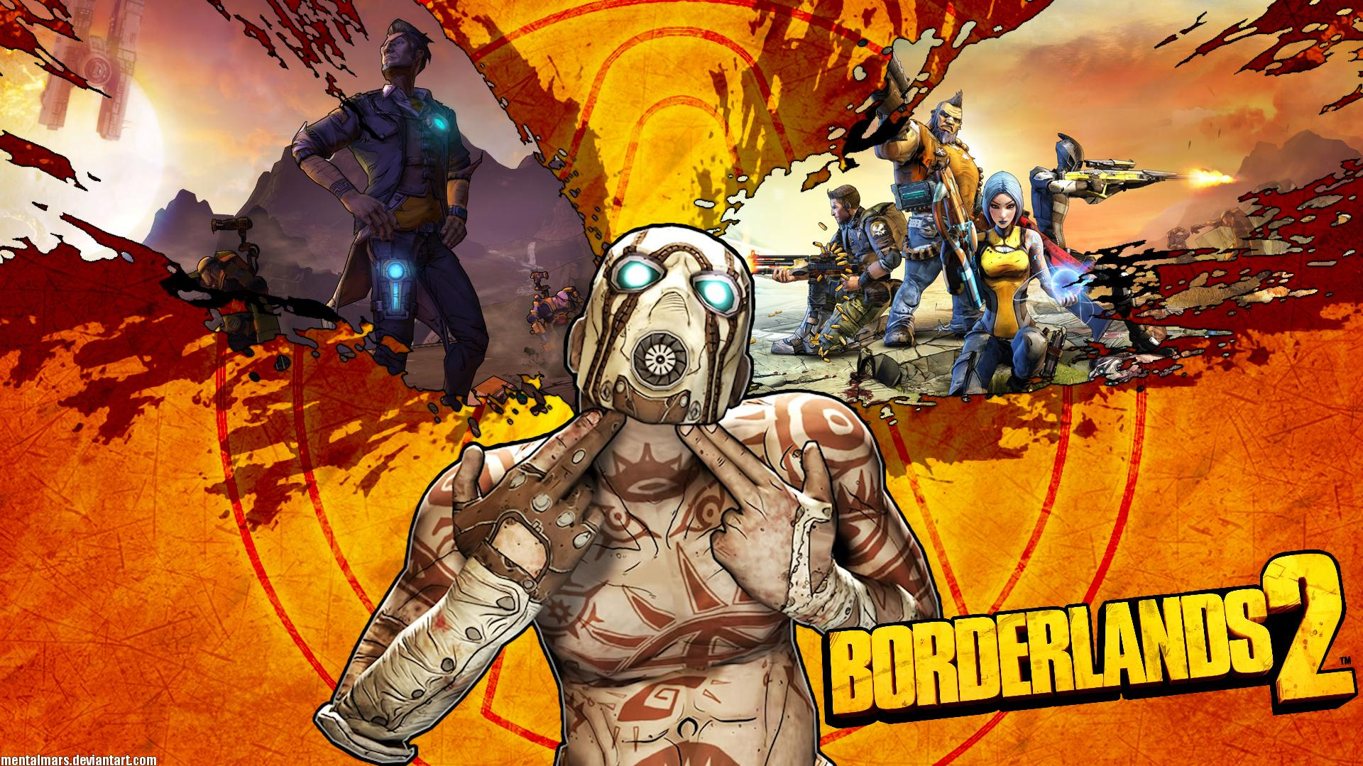 Borderlands 2 - Ultimate Vault Hunter Upgrade Pack 2 - The Raid of Digistruct Peak Walkthrough