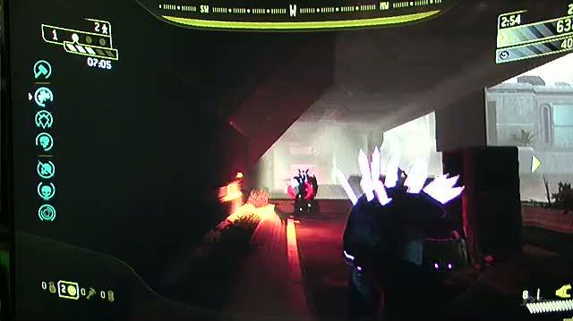 Halo 3 ODST Xbox 360 Gameplay - GC 2009 Rally Map 1 (Off-Screen)