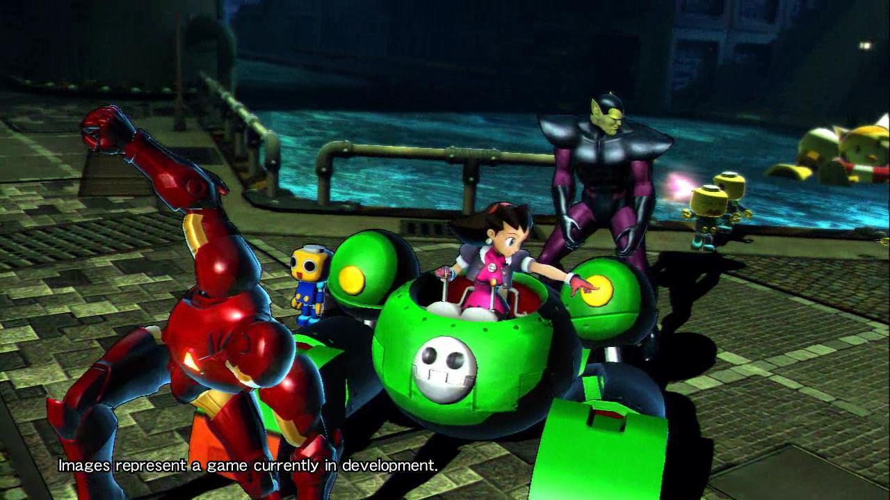 Marvel Vs. Capcom 3 Tron Gameplay - TGS 10