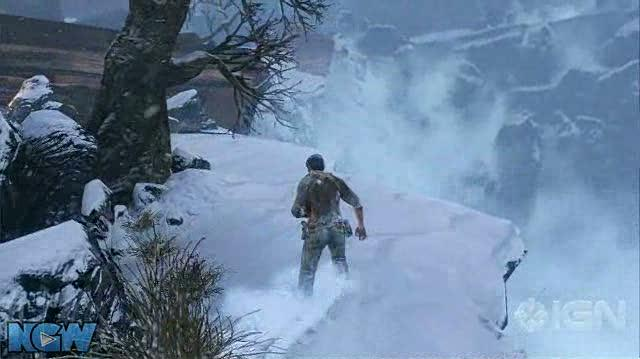 Uncharted 2 Among Thieves Video Guide-Walkthrough - Ch. 1 A Rock and a Hard Place - Part 2