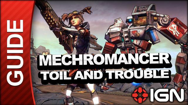 Borderlands 2 Mechromancer Walkthrough - Toil and Trouble - Part 14b