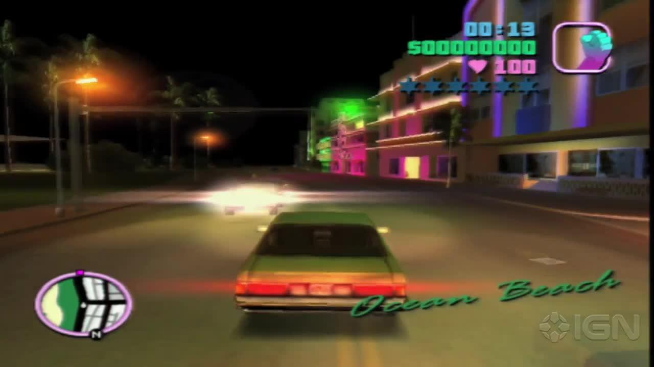 GTA Vice City - Billie Jean Sequence