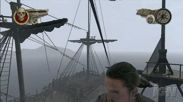 Pirates of the Caribbean At World's End Xbox 360 Gameplay - Into The Crow's Nest