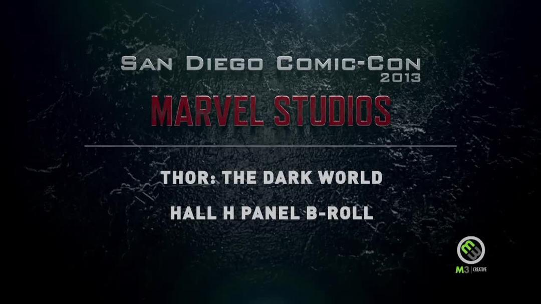 Thor 2 - San Diego Comic-Con 2013 Hall H Panel Clip