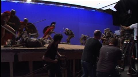 300 (2006) - Behind The Scenes Fighting On Stage