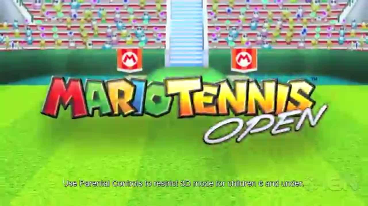 Mario Tennis Open Trailer