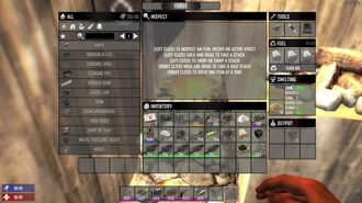 Crafting with the Forge in 7 Days to Die
