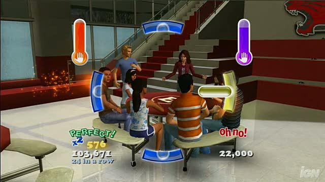 High School Musical 3 Senior Year Dance (Dance Pad Bundle) Xbox 360 Gameplay - Status Quo